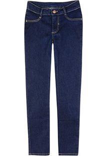 Calça Jeans Infantil Hering Feminina - Feminino