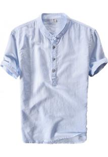 Camisa Vancouver - Azul Claro Xgg