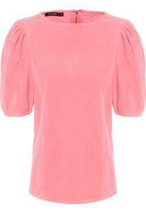 Camiseta Feminina Velvet Eleonora - Rosa