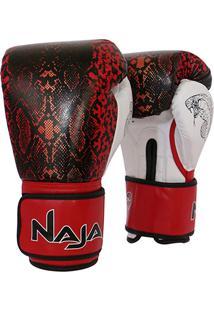 e3f667e65 Netshoes. Luva De Boxe   Muay Thai Feminina Naja Animal Print Cobra 12 Oz  ...