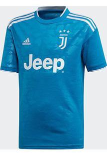 Camisa Juventus Infantil Third 19/20 S/Nº Torcedor Adidas - Masculino