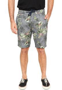 Bermuda Sommer Tropical Cinza