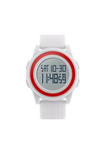 Relógio Skmei Digital -1206- Branco E Vermelho