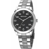 4a1e2f73671 Relógio Seculus Masculino - Masculino-Prata