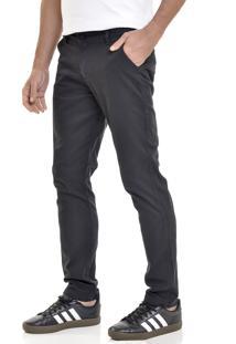 Calça Sarja Lemier Jeans Collection Slim Fit Color Preta