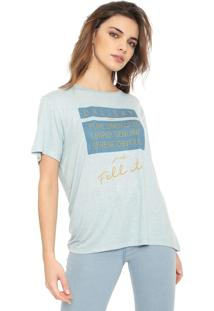 Camiseta Forum Fell It Azul