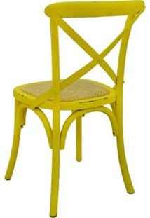 Cadeira Katrina Rivatti Coloridas Amarelo