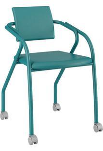 Cadeira Jersey Carraro Turquesa
