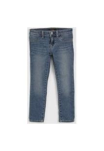 Calça Jeans Polo Ralph Lauren Infantil Estonada Azul