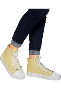 Tênis Dafiti Shoes Recorte Amarelo