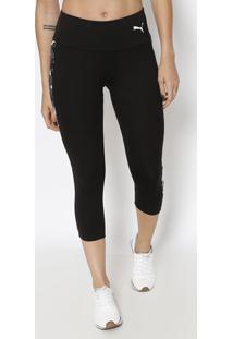 Legging Modern Sport Dry Cell® - Preta & Brancapuma