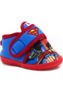 Pantufa Botinha Ricsen Superman Vermelho