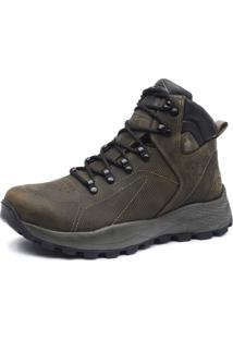 Bota Adventure Cano Alto Macboot Ripsalis 02 Oliva