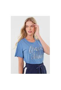 Camiseta Zinco Grace Skills Azul