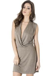 Vestido Cache Coeur Calvin Klein - Feminino
