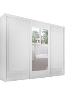 Guarda-Roupa Casal Com Espelho Supreme Branco 3 Pt 6 Gv