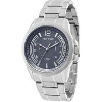 Relógio Technos Grandtech Analógico - 6P25Ba 1C 6P25Ba 1C - Masculino-Prata 10e03e4c12