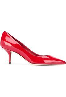 Dolce & Gabbana Scarpin Bico Fino - Vermelho
