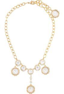 Dolce & Gabbana Colar Dourado - Metálico