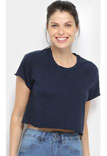 Camiseta Cropped Volcom Solid Stone Feminina - Feminino