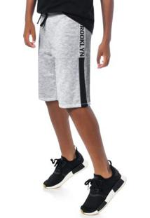 Bermuda Teen Masculina Branco