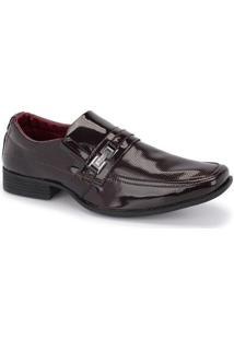 Sapato Social Masculino Sintético Confortável Leve Dia A Dia - Masculino