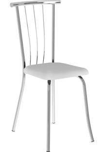 Kit 2 Cadeiras 154 Napa Móveis Carraro Branco