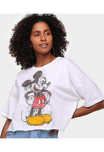 Camiseta Colcci Disney Mickey Feminina - Feminino