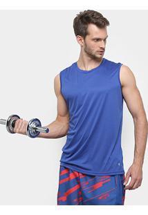 Regata Gonew Workout Masculina - Masculino-Marinho