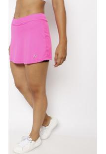 Short Saia Com Tag - Pink Neonfila