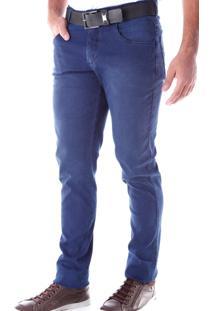 Calça 2212 Jeans Slim Traymon Marinho