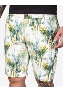 Bermuda Hermoso Compadre Palms Masculina - Masculino