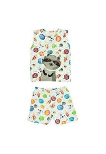 Pijama Infantil Space Grow Up Dreams Grow Up Estampado