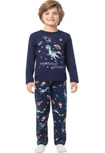 Pijama Azul