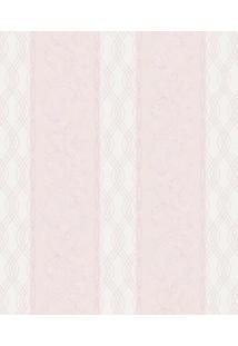 Papel De Parede Arabescos- Rosa- 1000X52Cm- Sharshark Metais
