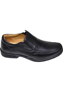 Sapato Masculino Social Slip Micro Rafarillo Preto