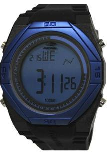 Relógio Masculino Mormaii Digital - Unissex-Preto