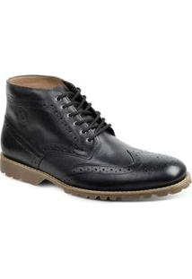 Bota Dress Boot Masculina Sandro Moscoloni Usa Preto Black