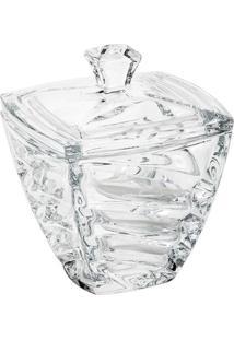 Bomboniere Facet- Cristal- 18X14,5X14,5Cm- Rojemrojemac