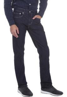 Calça Jeans Levis Masculina 511 Slim Fit Azul Escuro