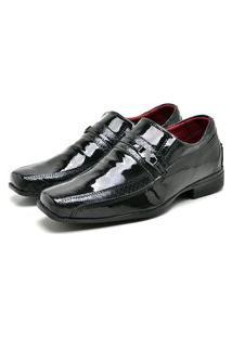 Sapato Social Masculino Mb Outlet Preto Solado Vision