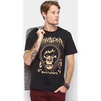 1ee1ebc8e4 Camiseta Cavalera Back To The Roots Masculina - Masculino-Preto
