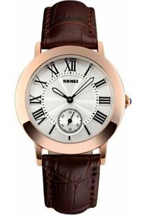 Relógio Feminino Skmei Analógico 1083 Mr - Feminino
