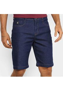 Bermuda Jeans Hang Loose Olive Masculina - Masculino