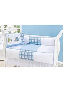 Enxoval Infantil Laura Baby Acampamento Azul