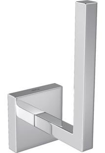 Porta Papel Higiênico Vertical Clean Cromado