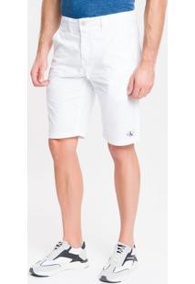 Bermuda Color Chino - Branco 2 - 42