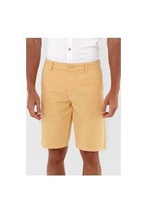 Bermuda Sarja Aramis Chino Color Amarela