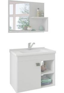 Conjunto De Banheiro Lotus Branco