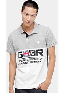 0fbfa710debeb Camisa Polo Rg 518 Piquet Recorte Br Masculina - Masculino